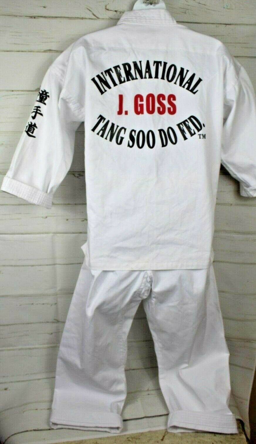 Dynamics Size 1 150 Tang Soo Do 2 Piece Uniform Karate Taekwondo Martial Arts