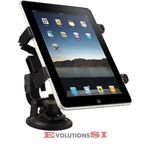 Soporte Coche Ventosa Para Ipad 2 3 Tablet 9 Y 10 Universal Nuevo