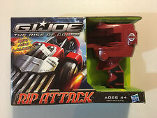 G.I. Joe The Rise of Cobra Rip Attack Tiger Snake with Street Viper figure NEW