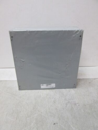 "Cooper B-Line 12124 SC Screw Cover Junction Box 12/"" x 12/"" x 4/"" Nema 1 FREE SHIP"