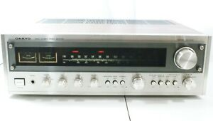 Vintage-Stereo-Receiver-Amplifier-Onkyo-TX-2500-AM-FM-Tuner-Aux-Phono-Works