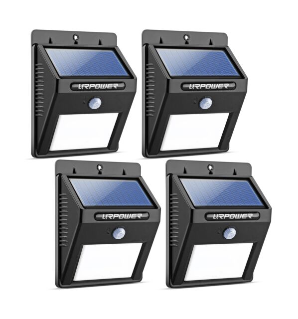 KUFUNG Solar Motion Detector Lights Outdoor48 LED Brightness Sensor Light for...