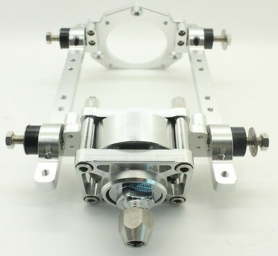 CNC aluminum engine mount with clutch for RC marine engine 26/29/30CC