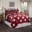 KENT-QUILT-SET-choose-size-amp-accessories-Red-Primitive-Star-Chambray-VHC-Brands thumbnail 1