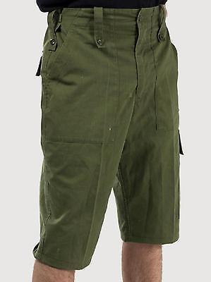 British Army Surplus Lightweight Green Shorts - Grade 1