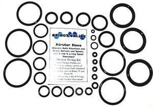 Airstar-Nova-Paintball-Marker-O-ring-Oring-Kit-x4-rebuilds-kits