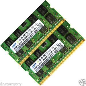 4GB-2x2GB-DDR2-800-PC2-6400-Laptop-SODIMM-Memory-RAM-200-pin