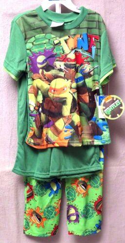 TMNT Ninja or Despicable Me Minion 3-Piece Pajama Set/'s BNWT