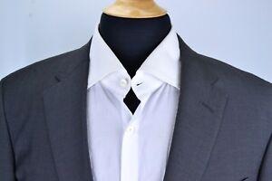 Samuelsohn-Recent-Solid-Gray-100-Wool-Sport-Coat-Jacket-Sz-40L