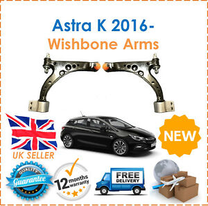 For-Vauxhall-Astra-K-MK7-2016-2017-2018-Front-Right-amp-Left-Wishbone-Control-Arms