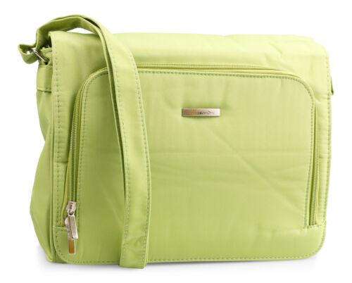Handtasche in Grün aus der Alessandro Collection - Sportliche Damentasche - NEU