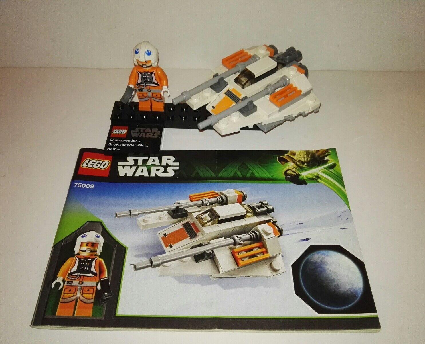LEGO Star Wars Snowspeeder & Hoth (75009) Microfighters serie 4 Rare