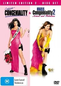 Miss-Congeniality-Miss-Congeniality-2-Armed-And-Fabulous-NEW-amp-SEALED-TZ1