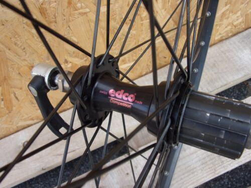 Edco Competition Hinterrad DT 8/9 Fach 36 Loch Sun Rims 26 Vintage Radsport Laufräder