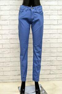 Pantalone-GAUDI-Donna-Taglia-Size-29-Jeans-Pants-Woman-Cotone-Regular-Fit-Blu
