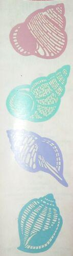 Mrs Grossman ... SEASHELLS 1999 Stickers shells .....Free Shipping LASER