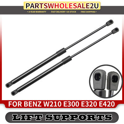 1 New Hood Lift Support Strut Prop Rod Shock Mercedes-Benz E55 AMG 2000-2002