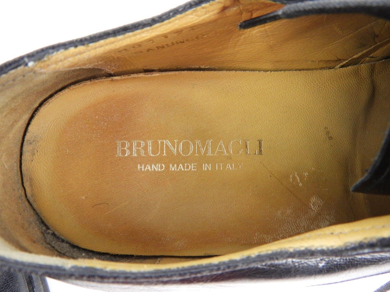 Bruno Magli Banuncolo Uomo 4-eye Nero Oxfords Italy 9 M Non-Slip Soles 4-eye Uomo Lace 2d2f9d