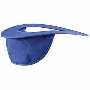 Occunomix Hard Hat Shade Sun Protection for Back of Neck ROYAL BLUE ... e471ebddc52b