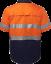 HI-VIS-SHIRT-SAFETY-COTTON-DRILL-WORK-WEAR-SHORT-SLEEVE-Air-Vents-UPF-50 thumbnail 30
