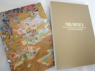FINAL FANTASY XI 11 World Concept w//DVD Guide Art Book 2004 SH52