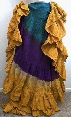 25 Yard Tribal Belly Dance Skirt UK American ATS