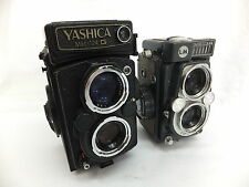 YASHICA Mat-124 G Yashinon 1: 2.8 f=80mm YASHICA 44 Yashinon 1:3.5 f=60mm EA136