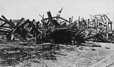 6x4 Gloss Photo ww753 Normandy D-Day Jb Juno Beach Obstacles Plage Beach