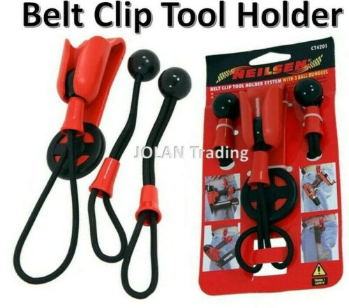 Belt Clip Tool Holder System Cordless Drill Impact Caulk Bucket Holders 4201*