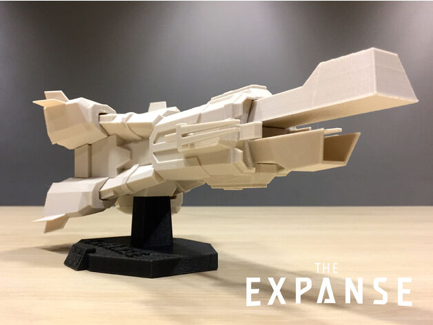 The womenger – The Expanse, Syfy TV Series, Spaceship Replica – 3D Printed.