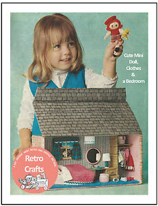 1960-039-s-Doll-amp-House-Sewing-Craft-Pattern-Copy