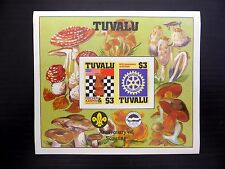 TUVALU Wholesale 1986 Chess & Rotary M/Sheet MS376 x50 Imperf U/M NB814