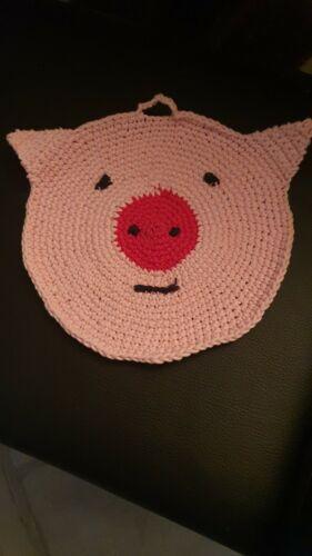 """Topflappen /""""Schweinchen/"""" Handarbeit/_das ist eine Spendenaktion"""
