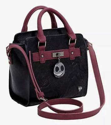 Disney The Nightmare Before Christmas Quilted Icon Satchel Handbag Purse NWT!