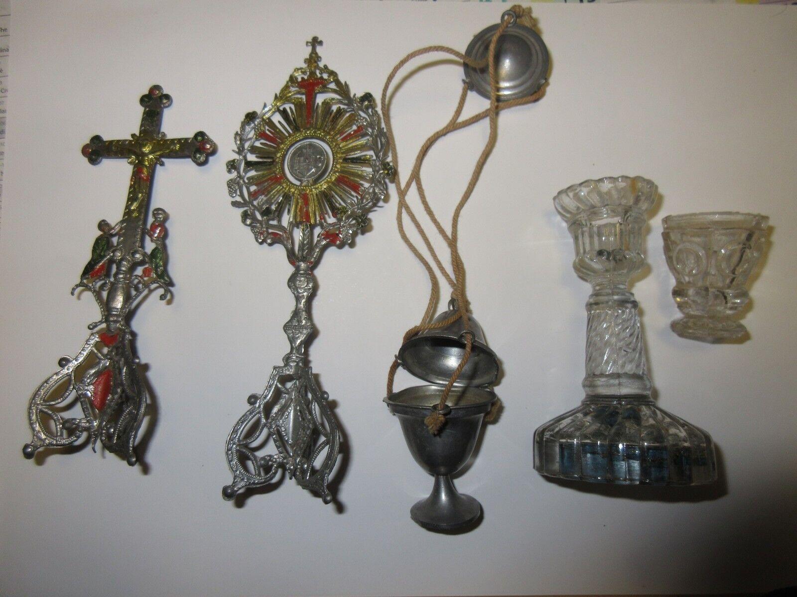 Custodia Quemador de incienso Cáliz  relicario miniaturas Juguetes