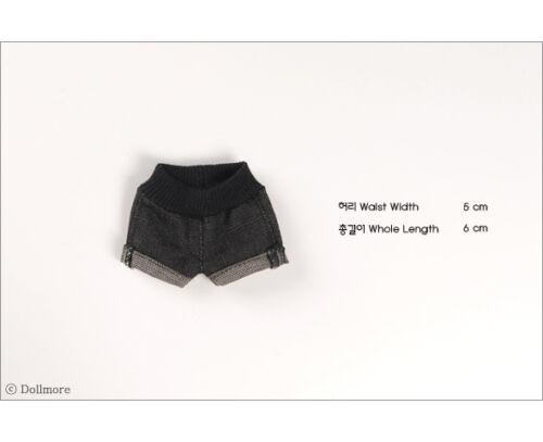 Dollmore BJD  YOSD Clothes size Black Yemo Short Pants