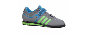Adidas Powerlift 2 Trainer - Men's Power Lifting Shoes - Grey Green Blue M18769