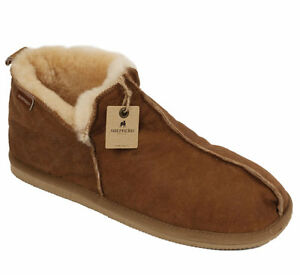 c43db8eed8cf Image is loading Shepherd-Anton-Mens-Luxury-Sheepskin-Boot-Style-Slippers