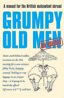 """""""AS NEW"""" Quantick, David, Grumpy Old Men on Holiday Book"""