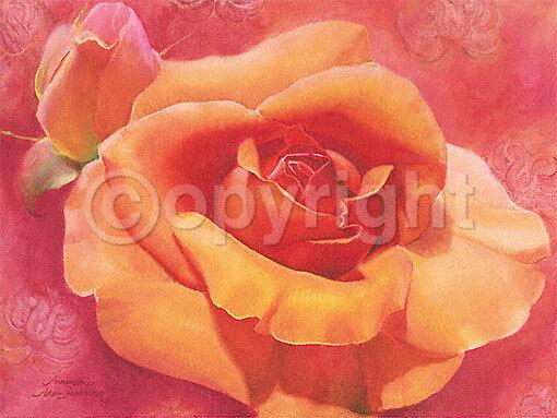 Annemarie Peter-Jaumann  Aventure terminé-image 60x80 La Fresque Roses Fleurs