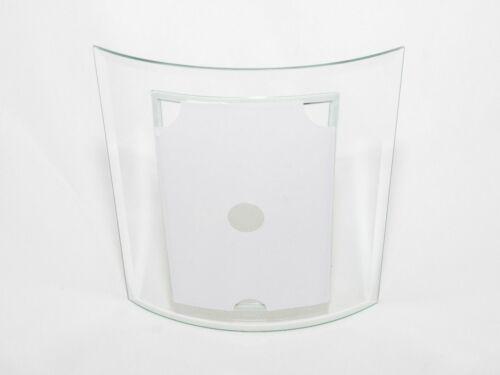 """En verre incurvée autoportante unique Photo Cadre photo 10x15cm 4/""""x6/"""""""