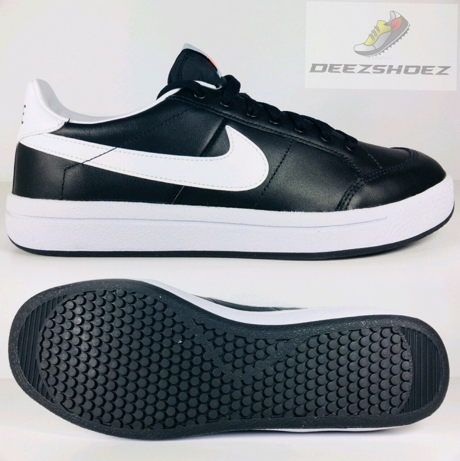 Nike Low Trainers Black White Meadow '16 833462-010 Mens Free Shipping Seasonal price cuts, discount benefits
