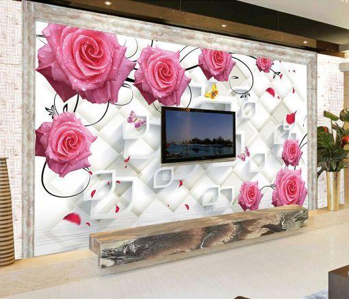 3D Shape Moderne 79 Photo Papier Peint en Autocollant Murale Plafond Chambre Art