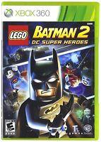 LEGO Batman 2: DC Super Heroes (Microsoft Xbox 360, 2012) Video Games