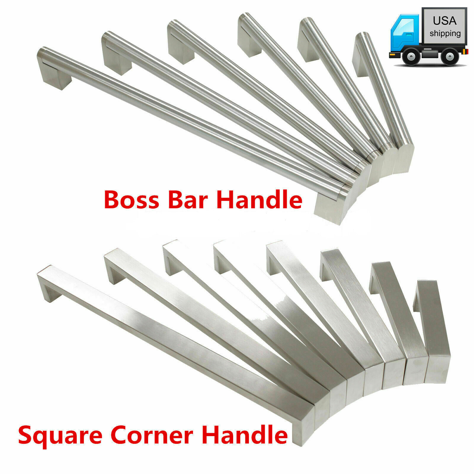 *25 Pack* Cosmas 724-2.5SS Stainless Steel Handle Wire Pull