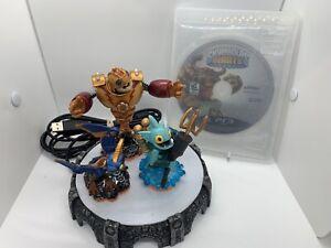 PS3 Skylanders Giants Starter Pack Game Bouncer, Gill, Drobot And Portal