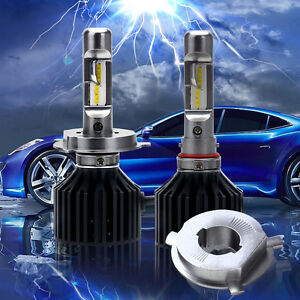 SEALIGHT-H4-HB2-9003-LED-100W-12000LM-Car-Headlight-6000K-Beam-Bulbs-Hi-Lo-Kit