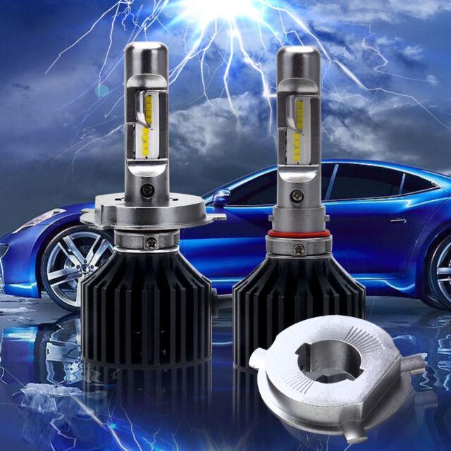 SEALIGHT H4/HB2/9003 LED 100W 12000LM Car Headlight 6000K Beam Bulbs Hi-Lo Kit