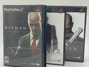 Hitman-Trilogy-Blood-Money-Silent-Assassin-2-Contracts-PS2-Complete-W-Manual