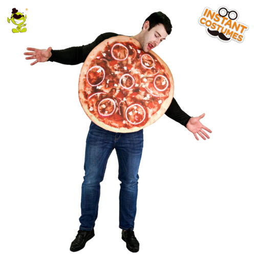 Men/'s Good Taste Pizza Party Costume Funny Sandwitch Food Jumpsuit